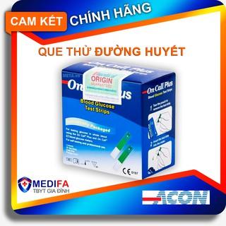 Que thử đường huyết On-Call Plus, chuẩn chính hãng ACON, tem niêm phong,nhãn đủ thumbnail