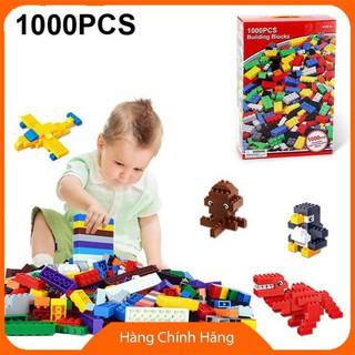 Bộ đồ chơi xếp hình Lego 1000 chi tiết cho b_Hàng tốt