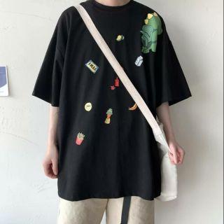 Áo Phông Nam Form Rộng♓ áo phông nam hè kiểu dáng trẻ