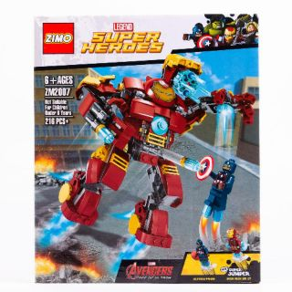 Lego Avengers Super Heroes Iron man Buster ZM2007