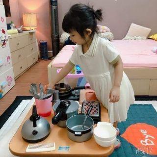 RẺ VÔ ĐỊCH – Bộ đồ chơi nấu ăn bé gái làm quà tặng trung thu siêu chất