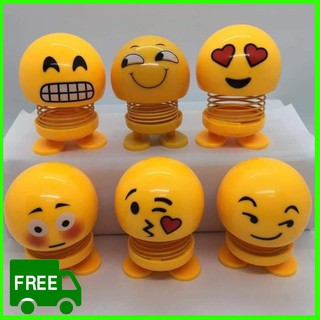 Emoji lò xo lắc đầu xả stress