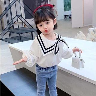 Áo tay dài phong cách thời trang mùa thu 2020 dành cho bé gái