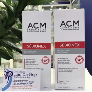 SEBIONEX CLEANSING GEL ACM - Gel rửa mặt cho da mụn, da nhờn 200ml (CHÍNH HÃNG Làn Da Đẹp) thumbnail