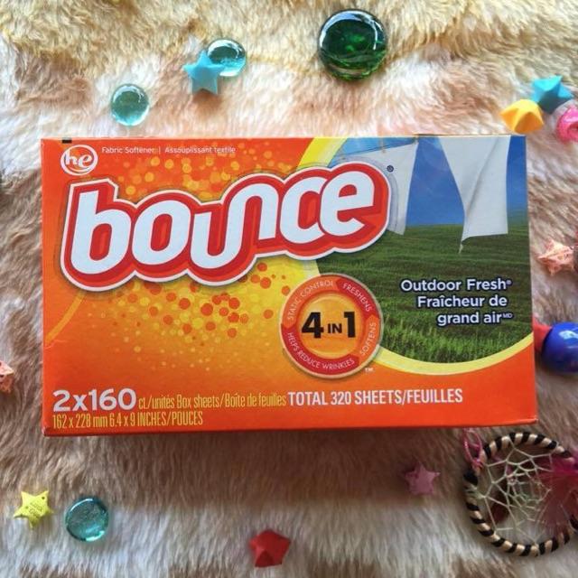 (có bill nhập) Giấy thơm BUONCE nổi tiếng tại Mỹ và Canada 160 tờ