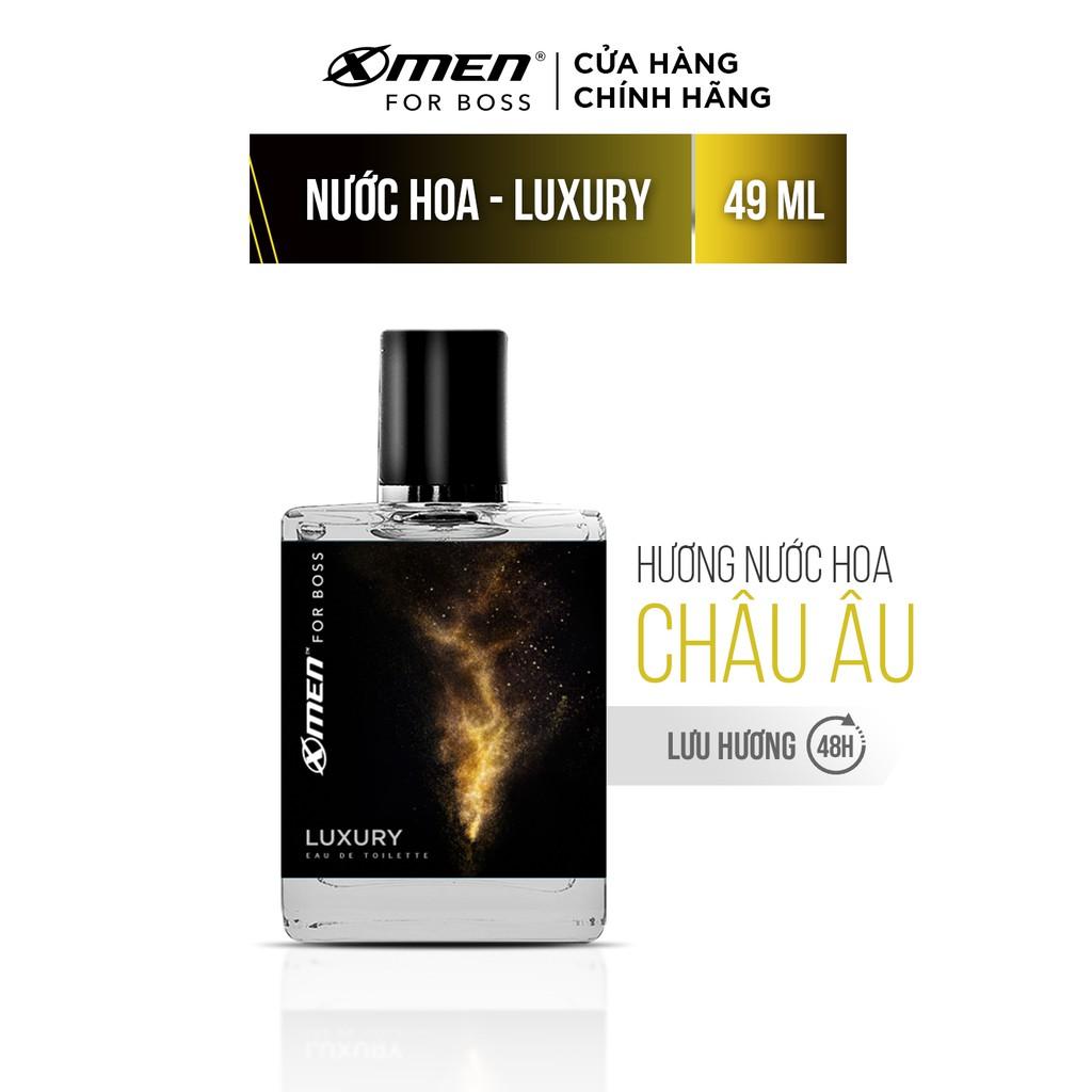 [Mã FMCGMALL giảm 8% đơn từ 250K] Nước hoa EDT X-Men for Boss Luxury 49ml - Mùi hương sang trọng tinh tế