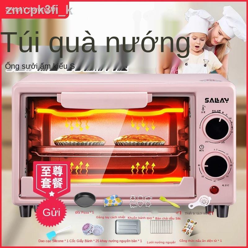 ✐Lò nướng Shangli dùng trong gia đình Lò nướng nhỏ có lò nướng điện mini tự động đa chức năng để nướng bánh ngọt và bánh