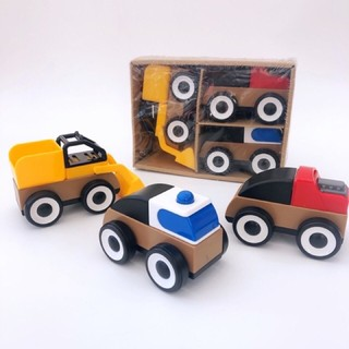 Set 3 ô tô DIY cao cấp