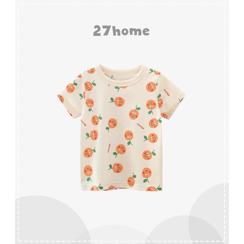 New T3 2021 HCM Áo thun 27Home bé gái Nowship HCM chất liệu cotton thoáng mát hàng chuẩn xuất khẩu châu Âu