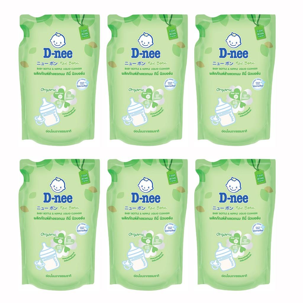 Bộ 06 gói nước rửa bình sữa D-nee (600ml) - 10062314 , 959338336 , 322_959338336 , 206000 , Bo-06-goi-nuoc-rua-binh-sua-D-nee-600ml-322_959338336 , shopee.vn , Bộ 06 gói nước rửa bình sữa D-nee (600ml)
