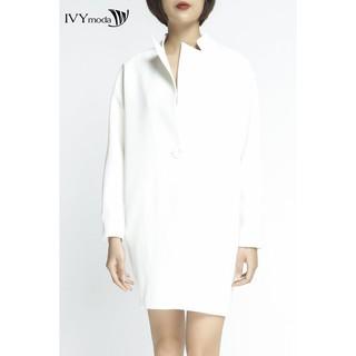 Áo khoác nữ dài tay dáng suông IVY moda MS 71B6546 thumbnail