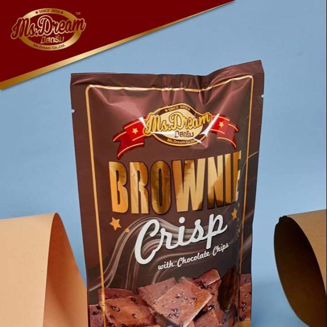Brownie crisp บราวนี่มิสดรีม