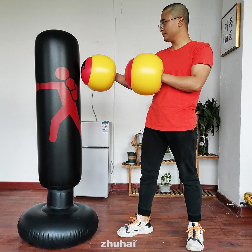 1 đôi găng tay đấm bốc bơm hơi luyện tập thể thao cho bé