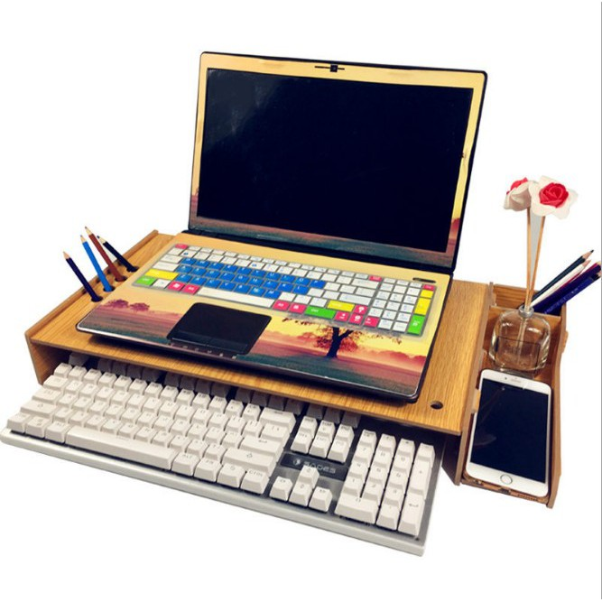 Bàn kê màn hình máy tính Monitor, Laptop đa năng bằng gỗ ghép tiện dung có khe tản nhiệt cao cấp - 9925405 , 779315228 , 322_779315228 , 199000 , Ban-ke-man-hinh-may-tinh-Monitor-Laptop-da-nang-bang-go-ghep-tien-dung-co-khe-tan-nhiet-cao-cap-322_779315228 , shopee.vn , Bàn kê màn hình máy tính Monitor, Laptop đa năng bằng gỗ ghép tiện dung có khe