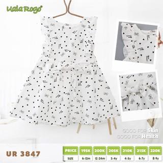Váy tim bèo nách UalaRogo [UR3847]