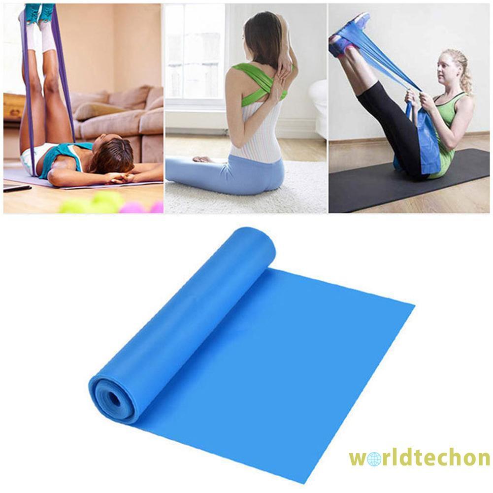 Set 4 Dây Kháng Lực Tập Yoga Pilates