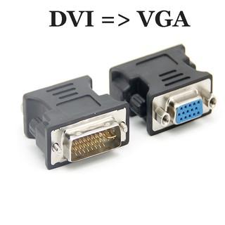 [Mã ELORDER5 giảm 10K đơn 20K] Đầu chuyển đổi DVI sang VGA ( DVI to VGA)