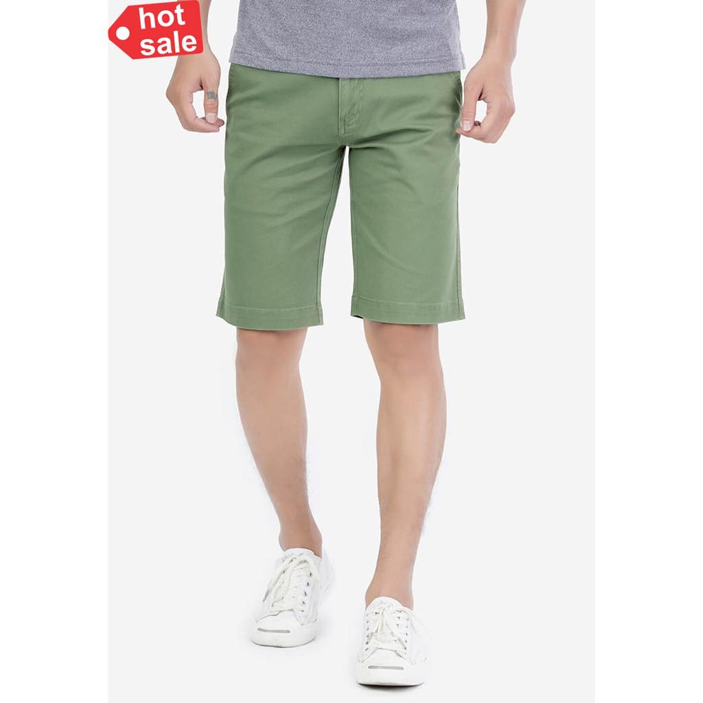 Quần short nam vải kaki Nhật cao cấp