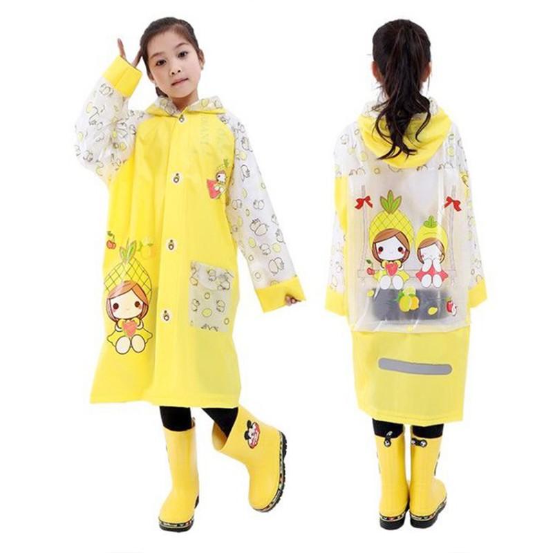 [Mã NOWSHIP30K giảm 30K đơn 50k] Áo mưa trẻ em cao cấp hình thú đáng yêu cho bé 4-10 tuổi BBShine – AM005
