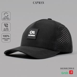Mũ lưỡi trai CAPMAN chính hãng full box, nón kết nam trucker vải dù CM108 freesize cho cả nam nữ thumbnail