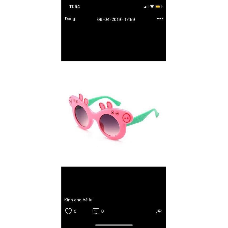 [HOT] Kính Peppa Pig siêu yêu cho bé yêu chống nắng bụi cực yêu