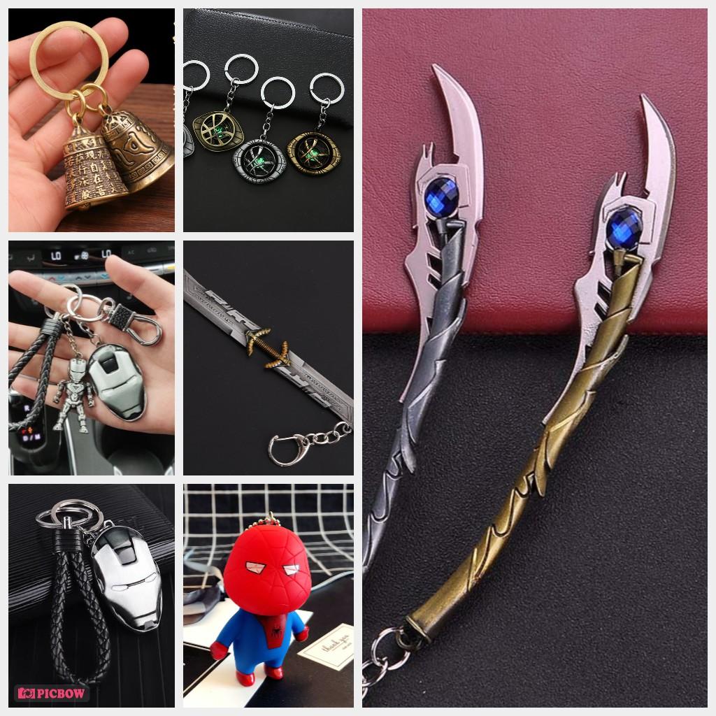 Móc treo khóa, Móc treo balo marvel đẹp, nhiều mẫu giá rẻ