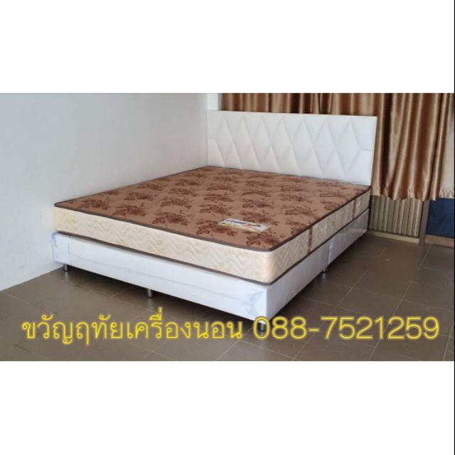 เตียงบล็อกพร้อมที่นอน Ks เลืิอกสีและแบบได้ 3.5-6 ฟุต 4,990-7, 990