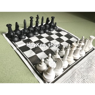 Bộ trò chơi cờ vua (bàn giấy) cho bé