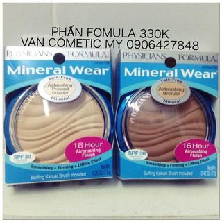 Phấn phủ Physicians Formula Mineral Wear Talc-Free Mineral Airbrushing Pressed Powder SPF 30 thumbnail