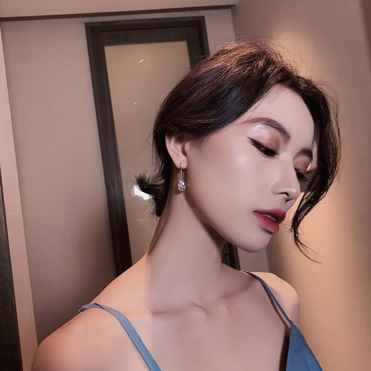 🔥 Bông tai pha lê nhỏ xinh, cá tính cho bạn nữ - Khuyên tai BT100