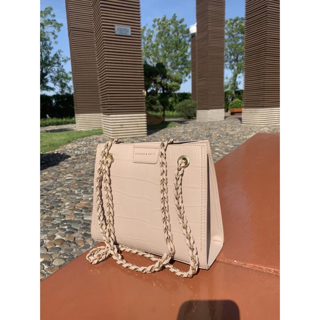 Túi Xách Nữ Đeo Vai Nữ Đi Làm Đi Chơi Da PU Vân Rắn Hàng Quảng Châu Cao Cấp Tặng Kèm Ví nhỏ size 24cm