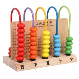 bộ đồ chơi tập đếm bằng gỗ cho bé