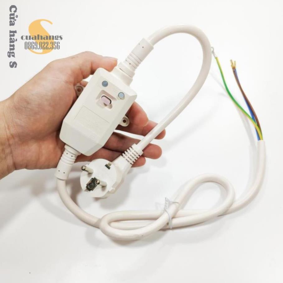 Dây chống giật máy nước nóng ELCB chính hãng chất lượng cao - nhập khẩu