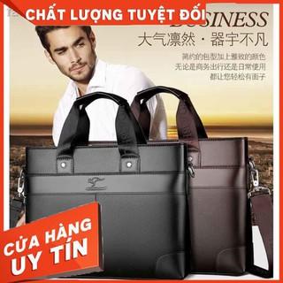 HÀNG NHẬP KHẨU – ☈Túi xách nam Lingzhi Kangaroo mới công sở đeo vai chéo thời trang – Hàng Nhập Khẩu