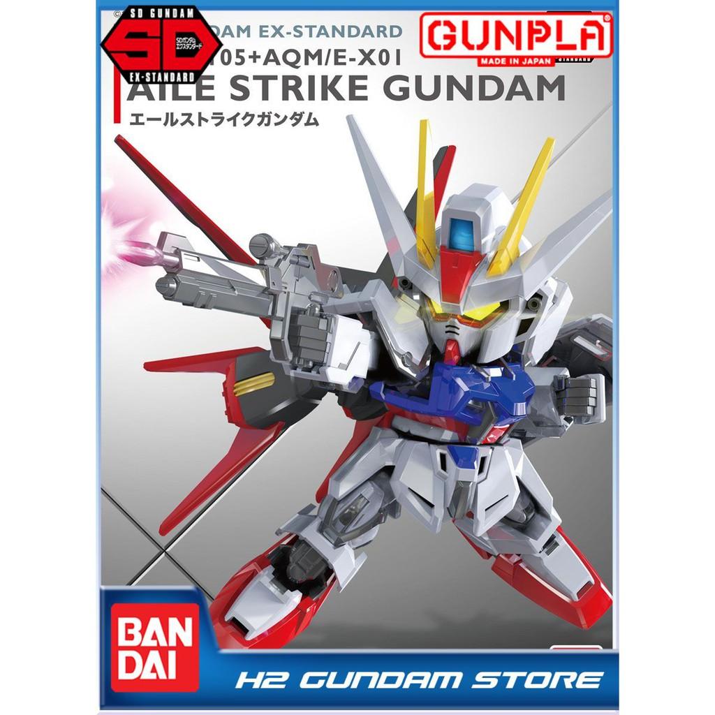 Mô hình Bandai SD Gundam EX-Standard Aile Strike Gundam (Gundam Model Kits)