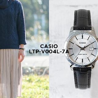 Đồng hồ nữ dây da Casio LTP-V004L-7AUDF chính hãng