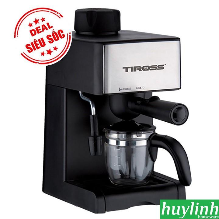 [ELHACOIN02 giảm tối đa 300K xu] Máy pha cà phê Espresso Tiross TS621