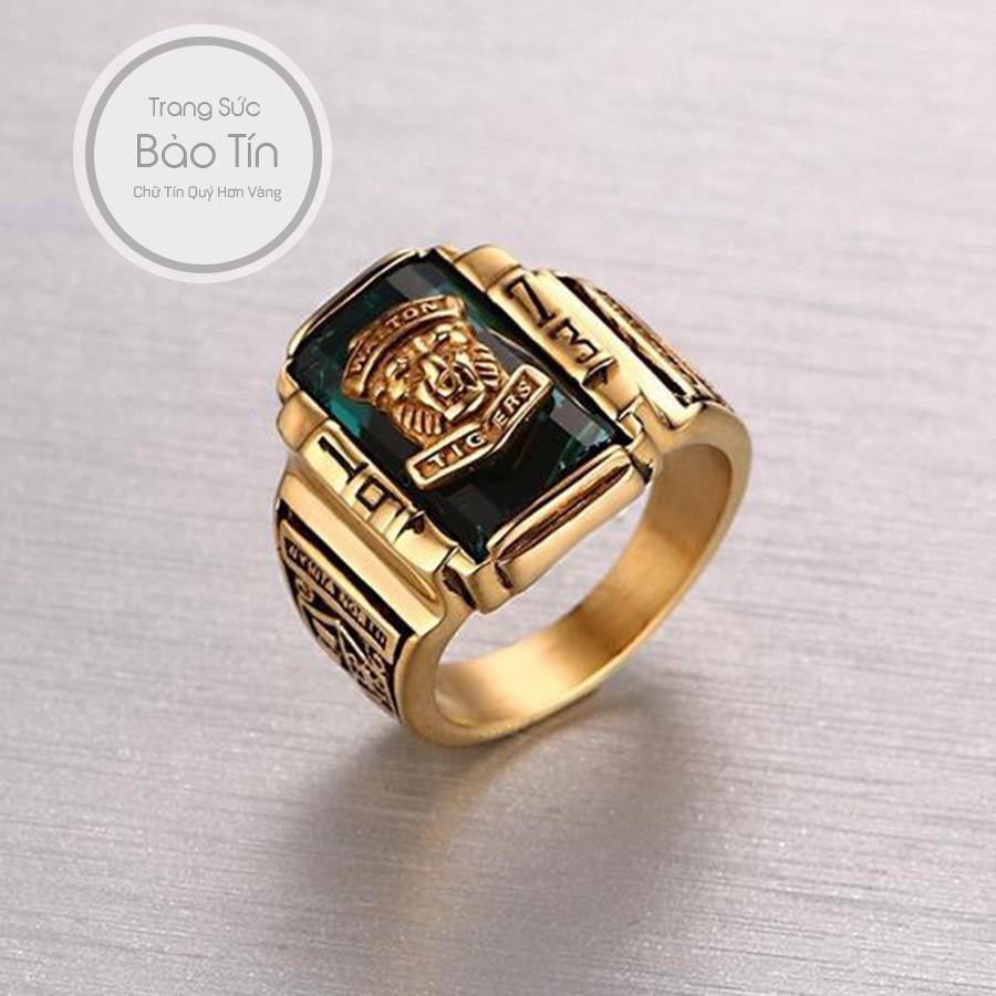 Nhẫn Nam Sỹ Quan Mỹ Đá Đen Chất Liệu Titan Mạ Vàng Bảo Tín - 10039476 , 766799085 , 322_766799085 , 250000 , Nhan-Nam-Sy-Quan-My-Da-Den-Chat-Lieu-Titan-Ma-Vang-Bao-Tin-322_766799085 , shopee.vn , Nhẫn Nam Sỹ Quan Mỹ Đá Đen Chất Liệu Titan Mạ Vàng Bảo Tín