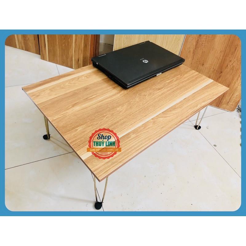 ⚡️Bàn gấp cỡ lớn 50x70cm màu vân gỗ phủ melamine siêu đẹp giá sốc