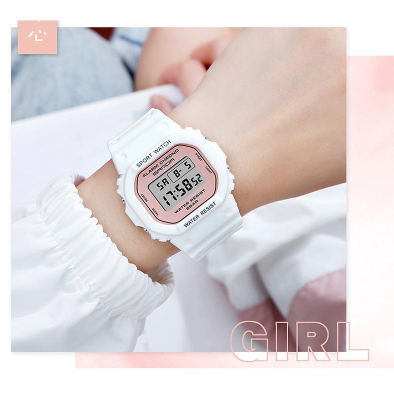 Đồng hồ Nữ thể thao SANDA FARAH, Thương hiệu Cao Cấp Của Nhật, Chống Nước Tốt