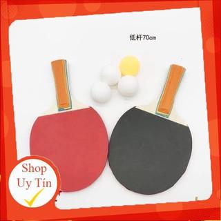 [ Sale sốc] Bộ Đồ Chơi Bóng Bàn Phản Xạ ( vợt gỗ loại 1)