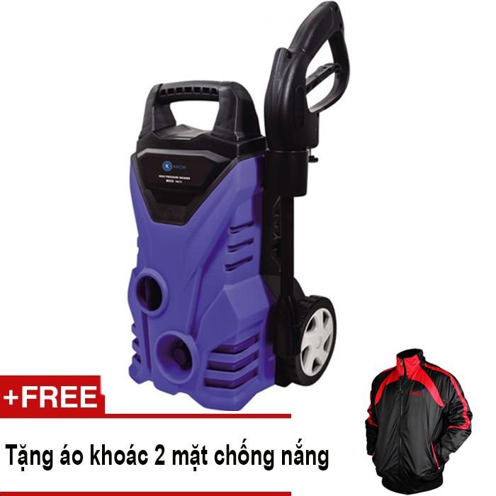 Máy rửa xe cao áp tự hút nước Kachi MK72 + Tặng áo khoác 2 mặt chống nắng