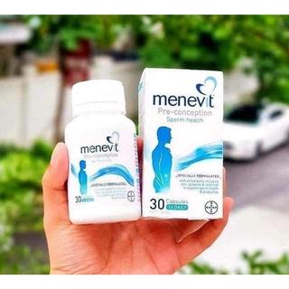 [Hàng Chuẩn ÚC] Menevit - Hỗ trợ sinh sản sinh lý nam, tăng thụ thai 30 viên thumbnail