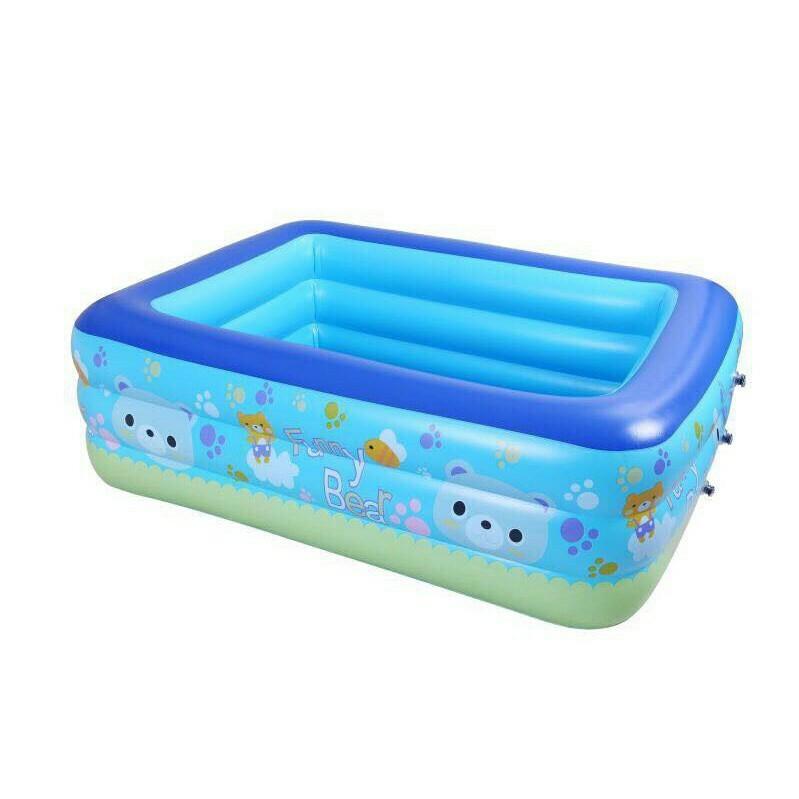 Bể bơi 2 tầng cho bé 1m5