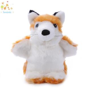 Baby ♡ Cute Fox Hand Puppet Baby Kids Children Soft Doll Plush Educational Toys