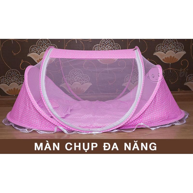 Bộ màn ngủ kèm đệm chống muỗi dành cho bé có nhạc