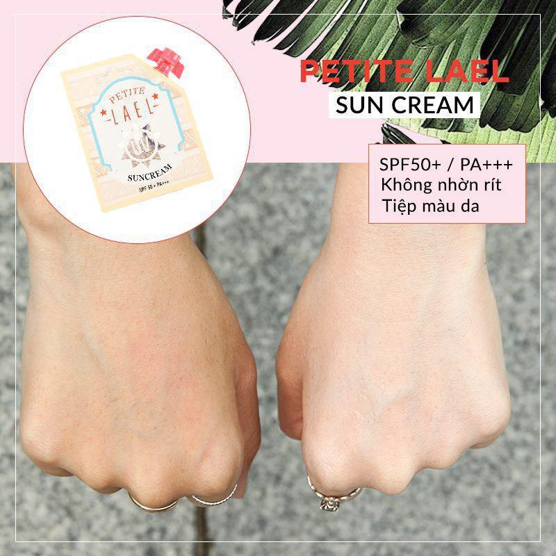 Kết quả hình ảnh cho PETITE LAEL Sun Cream