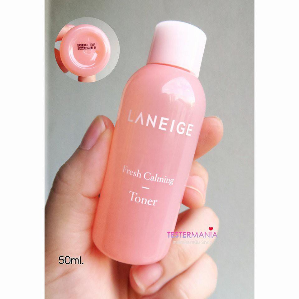 Nước hoa hồng cân bằng, dịu mát da Laneige Fresh Calming Toner 50ml - 2926858 , 886431131 , 322_886431131 , 90000 , Nuoc-hoa-hong-can-bang-diu-mat-da-Laneige-Fresh-Calming-Toner-50ml-322_886431131 , shopee.vn , Nước hoa hồng cân bằng, dịu mát da Laneige Fresh Calming Toner 50ml