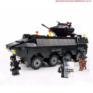 Bộ mô hình LEGO xe bọc thép quân sự Hsanhe 6508