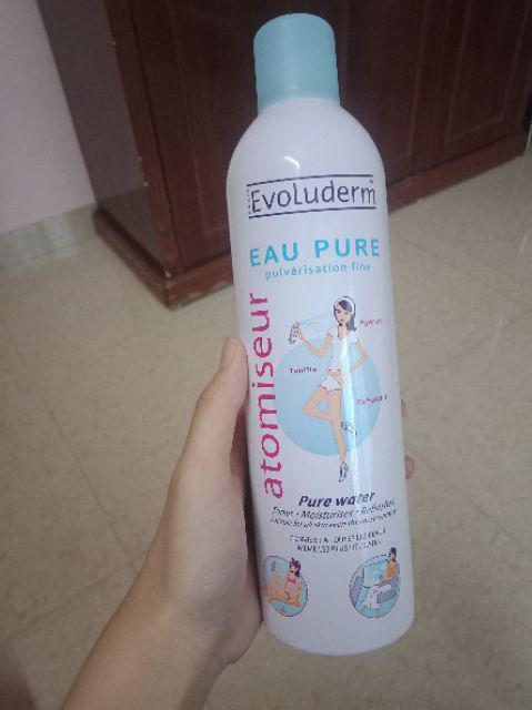 Đánh giá sản phẩm Xịt khoáng Evoluderm Atomiseur Eau Pure 400ml của n*****_